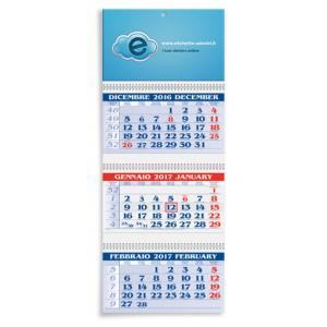 Calendario da muro Trittico