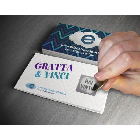 GRATTA E VINCI - SCRATCH CARD