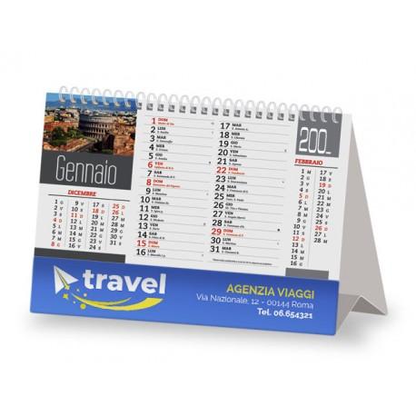 Calendario da Tavolo illustrato Italia