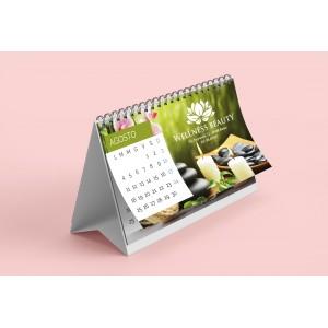 Calendario da tavolo personalizzato 20X13